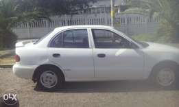 Hyundai accent for sale R25000 negotiable 1;5 letter