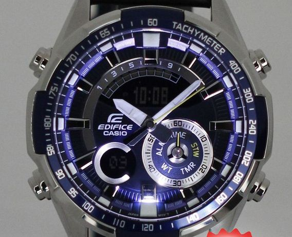 Часы Casio Edifice ERA-600L-2A! 100% ОРИГИНАЛ! Гарантия 2 года!  5 ... da5520f9c3f