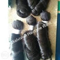 Human hair for sale.