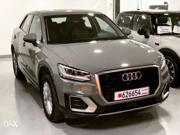 Audi Q2 2018 only 13000 Km warranty and service package