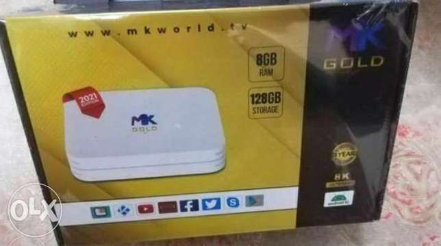 Mk Android box Full hd new With 1 year subscription