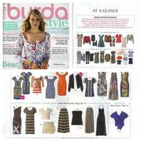 Burda magazine and sewing patterns