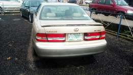 Lexus ex 300 available for sell