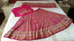 Unstiched Indian bridal outfit for sale