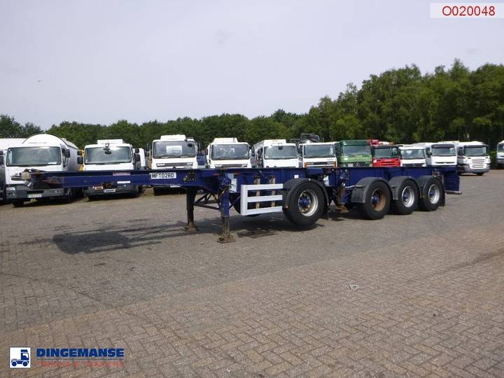 Dennison Container combi trailer 20-30-40-45 ft - 2019