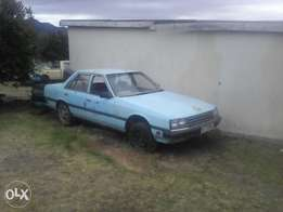 nissan skyline body on wheels with papers and licence is on date.