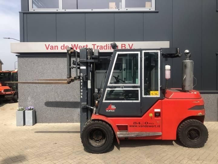heftruck DANTRUCK-HEDEN 8450DG 5.0 ton triplo freelift ... - 2007