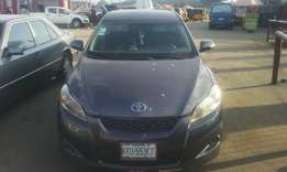 Registered Toyota Matrix 2010 Model
