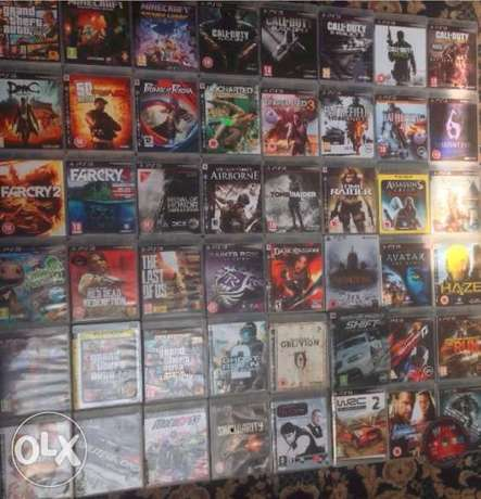 Ps3 Games 3 For 5k GTA 5 Minecraft,Fifa17, Need4speed,Call of duty bla Wuse - image 1