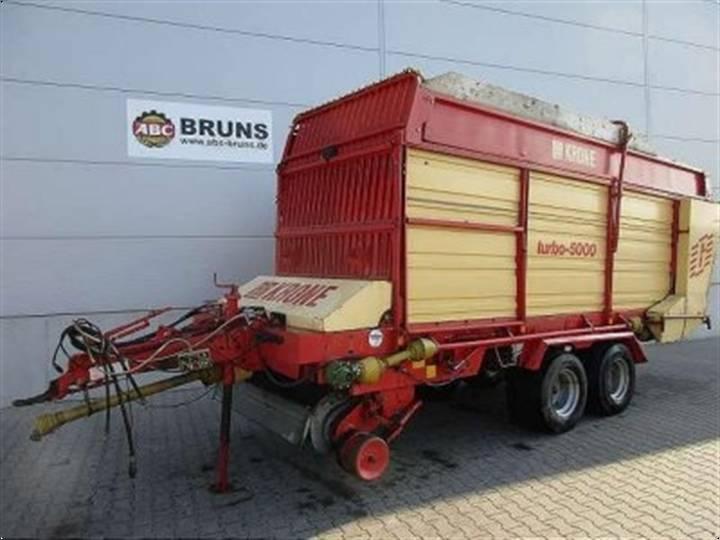 Krone TURBO 5000 T - 1989