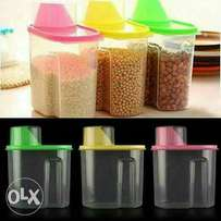 Cereal Storage Containters.