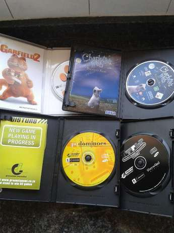 4 pc - cd rom games for sale, Ttris, Garfield2, Charlottes web and Dom Edenvale - image 2