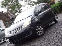 Nissan Note black colour 2010 model excellent condition