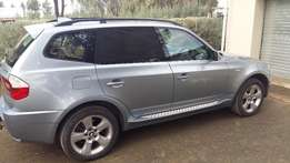BMW X3 2.0d 2005 with sports package