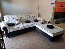 L shape 6 seater
