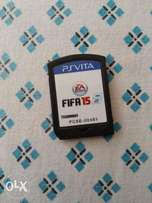 Psvita at 10000/= only comes with FIFA 15