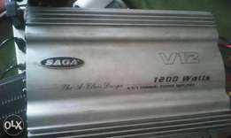 Saga amplifier car Booster 1200 watts 4/3/2/channels A class design is