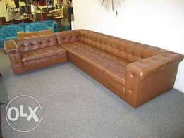 Chesterfield L-shape,Sectional/Corner Sofas