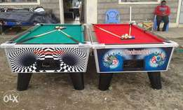 Pooltables for hire