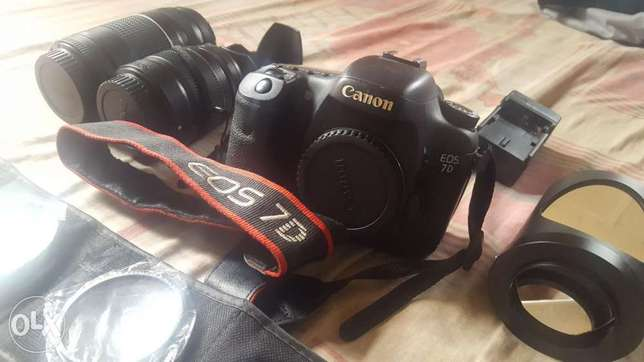 Canon EOS 7d and accessories Abuja - image 2