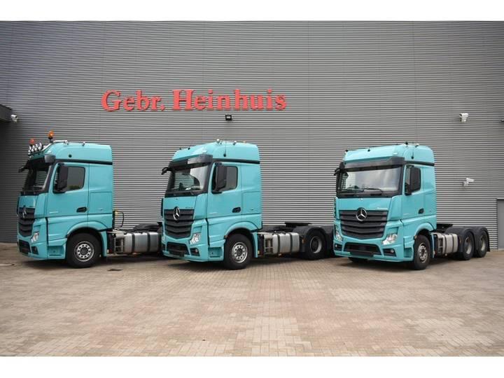 Mercedes-Benz Actros 2658 6x4 Euro 6 Hubreduction Retarder 3 Pieces! - 2014