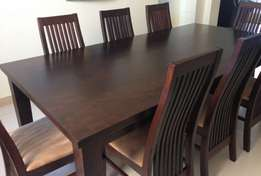 Dining Table - 9 Pcs