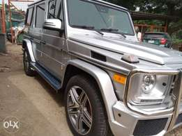 Sharp Mercedes-Benz G550 04 upgraded to G63