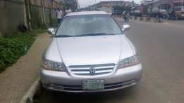 Honda accord 2002 model first bodyfor fast sell
