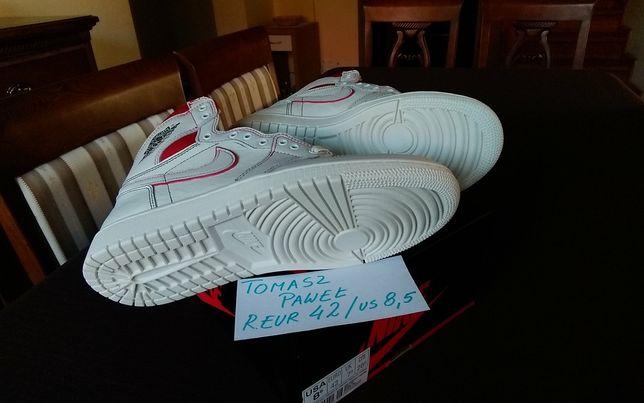 Nike Air Jordan 1 Phantom Gym Red r. 42 (26,5 cm) kod 555088