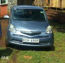 blue low mileage Toyota ractis.lady owned