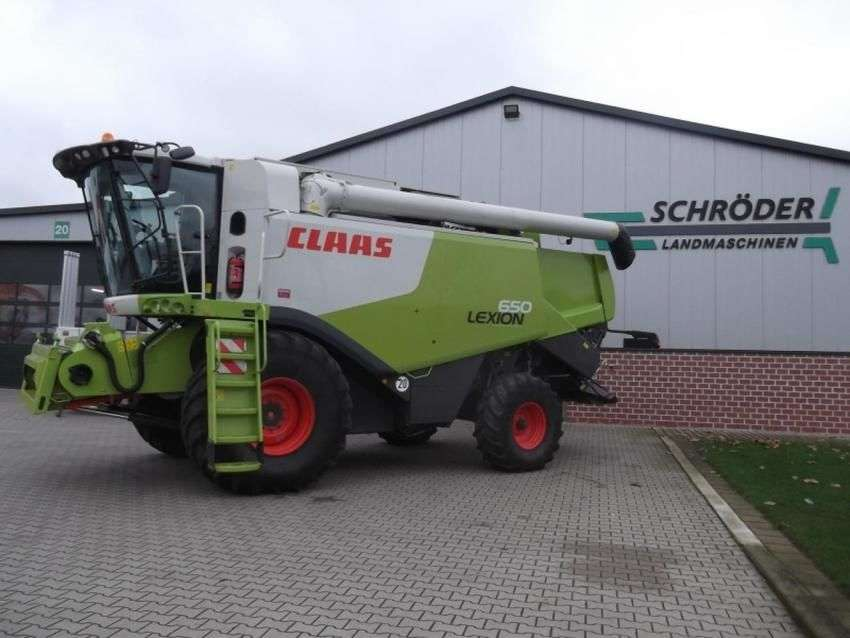 Claas Lexion 650 - 2011