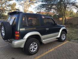 Mitsubishi Pajero 4M40 with new engine