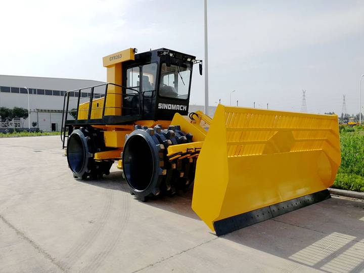 New GYL263 compactor