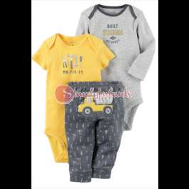 Carter's 3-Piece Little Character Set (12 Months) Yaba - image 1