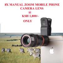 8X ZOOM universal mobile phone telescope, for wild life exploring