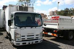 Isuzu ELF Freezer Truck 2009 Model