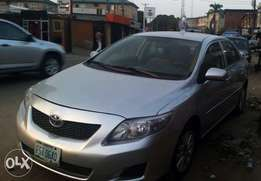 Registered 2008 Toyota Corolla ( Painted ) Located at Yaba with AC/CD