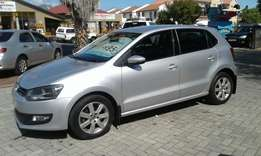 2010 VW Polo 1.6 Comfort Line kms 124000