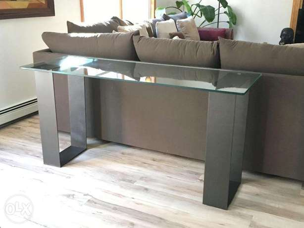 [ Customized contemporary industrial steel furniture - Console Table ]