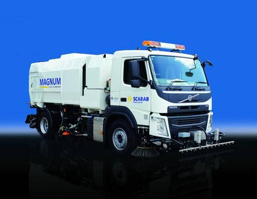 Magnum AUTOMATURATOARE capacitate mare Scarab  road sweeper