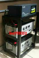 Extremely rugged 1.5kva inverter installation with 2 batteries