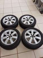 15 inch OEM Polo 6 Rims& Tires