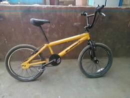 Ex UK yellow bmx bike
