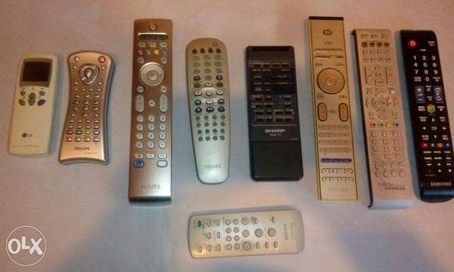 various remote controles on demand ريموت كونترول مختلف