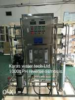 Water purification Reverse osmosis