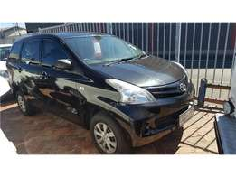 Black Toyota Avanza 1.3 available now!