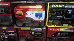 Generators from any brand you can get from us
