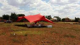 2x Stretch tents for sale