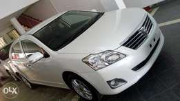 Toyota premio Pearl White colour fully loaded new shape kcp