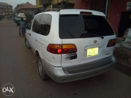 A neatly used Toyota Sienna for sale.